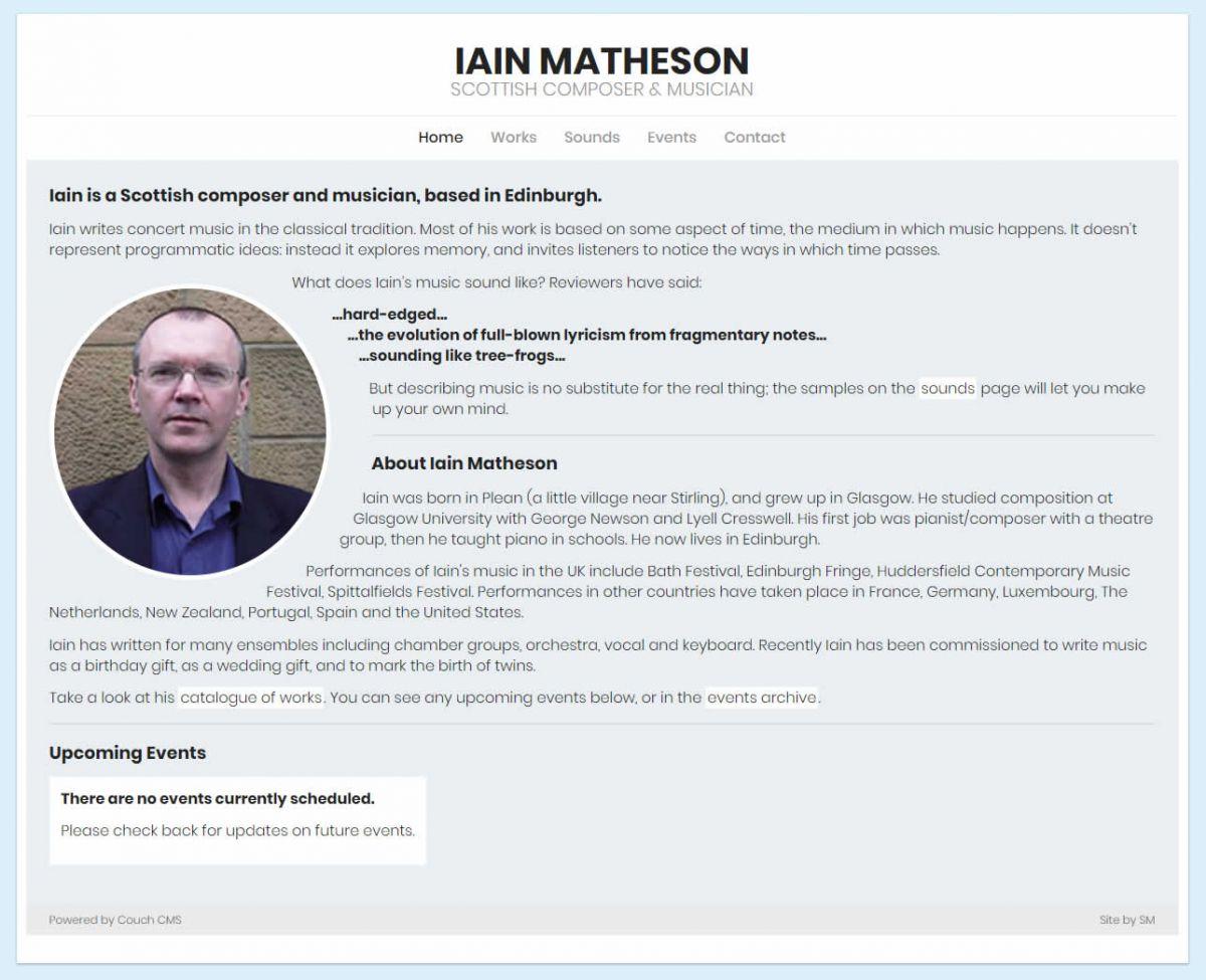 Iain Matheson