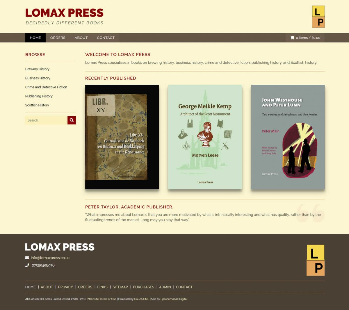 Lomax Press
